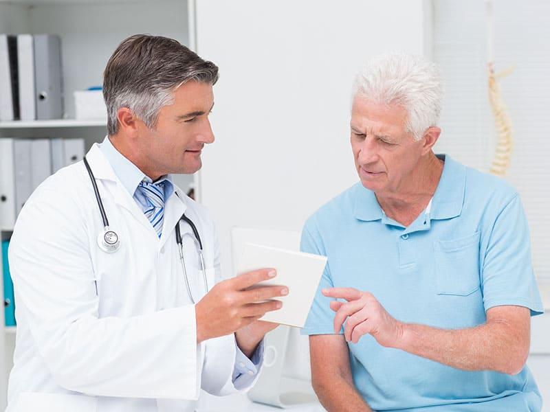 резултати при пациентите